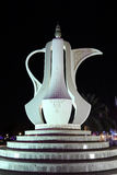 Arabian Coffee Pot in Doha Royalty Free Stock Photography