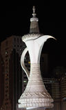 Arabian Coffee Pot monument in Abu Dhabi Stock Photography