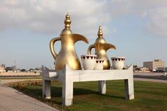 Arabian Coffee Pots. Qatar Royalty Free Stock Photos