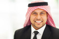 Arabian corporate executive Stock Images