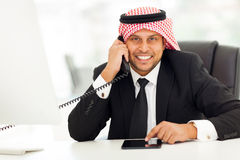 Arabian corporate worker Stock Photography