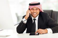 Arabian corporate worker Stock Photography