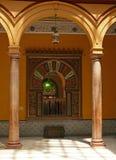 Arabian courtyard Royalty Free Stock Images
