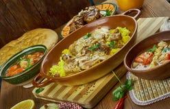 Arabian Cuisine Royalty Free Stock Images