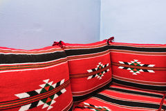 Arabian cushions Stock Photography