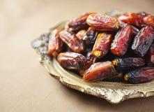 Arabian dates Royalty Free Stock Image