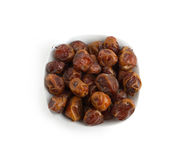 Arabian Dates served in Ramadan after fasting Stock Images