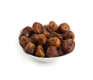 Arabian Dates served in Ramadan after fasting Stock Image