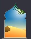 Arabian desert Stock Illustration