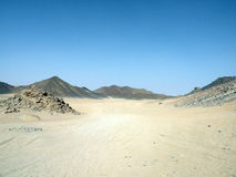 Arabian desert, Africa Royalty Free Stock Photo