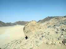 Arabian desert. Mountains and rock. Arabian desert Royalty Free Stock Images
