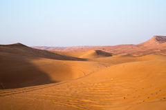 Arabian desert Royalty Free Stock Image