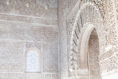 Arabian Door in Alhambra Royalty Free Stock Image