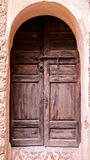 Arabian door Stock Images