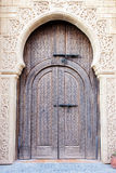 Arabian door Stock Photography
