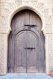Arabian door. Old Arabian door in Medina village, Morocco stock photography