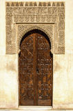 Arabian door style Royalty Free Stock Photography
