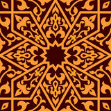 Arabian eastern seamless ornament Royalty Free Stock Images