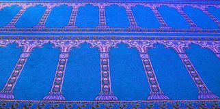 Arabian floor carpet Royalty Free Stock Photos