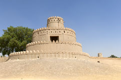Arabian fort in Al Ain Stock Images