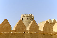 Arabian fort in Al Ain Stock Image