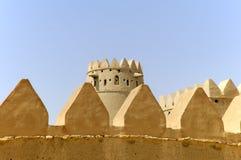 Arabian fort in Al Ain Stock Image