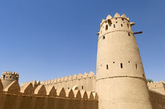Arabian fort in Al Ain Stock Photo