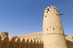 Arabian fort in Al Ain Stock Photo