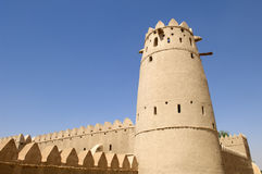 Arabian fort in Al Ain Stock Images