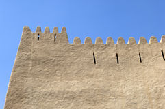 Arabian fort in Al Ain Royalty Free Stock Photography