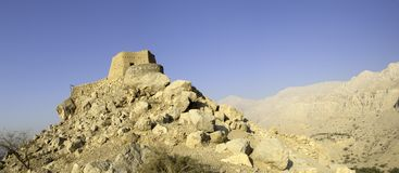 Arabian Fort in Ras al Khaimah Arab Emirates Royalty Free Stock Photos