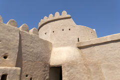 Arabian fort in Ras al Khaimah Royalty Free Stock Photo
