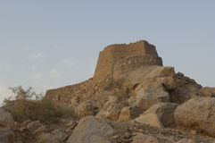 Arabian Fort in Ras al Khaimah Dubai Royalty Free Stock Images