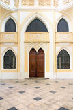 Arabian front door Royalty Free Stock Images