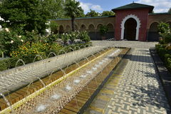 Arabian Garden, Berlin, Germany Royalty Free Stock Images