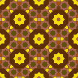 Arabian geometric colorful pattern 05 Royalty Free Stock Photos
