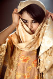 Arabian girl stock photo