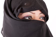 Arabian Girl Eyes Stock Image