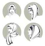 Arabian girls Stock Photos