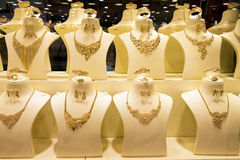 Arabian Gold Adornment Stock Photo