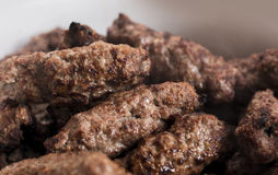 Arabian Grilled Kofta Royalty Free Stock Photography