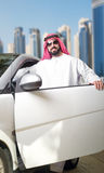 Arabian Guy in the City Stock Photography