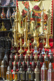 Arabian handicraft in Bur Dubai Souk Stock Images