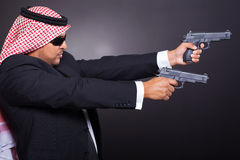 Arabian hit man Royalty Free Stock Image