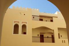 Arabian house. Royalty Free Stock Photo