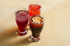 Arabian juice of jallab served in holy month ramadan Royalty Free Stock Images