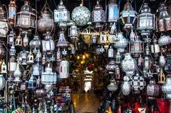 Arabian lamps Royalty Free Stock Photography