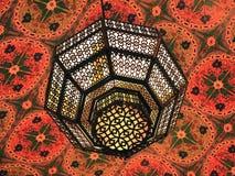 Arabian Lantern. This shot was taken in Dubai, Ibn Batutta Mall Royalty Free Stock Images