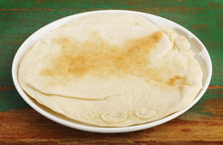 Arabian Lebanese Bread Royalty Free Stock Photo