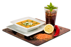 Arabian Lentil Soup Royalty Free Stock Images